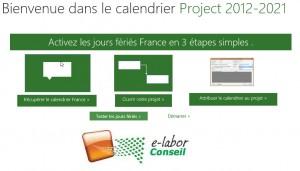 Ce fichier au format Project Template fourni une méthode d'utilisation et de transfert.